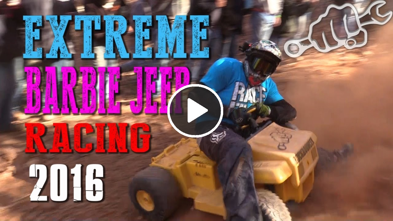 extreme barbie jeep racing 2016 at RBD